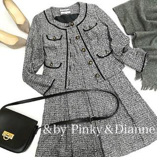 ☆&by Pinky&Dianne☆ツイードワンピース♡ジャケッ...