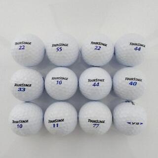 ゴルフ ①ロストボール12個(傷み少ない)