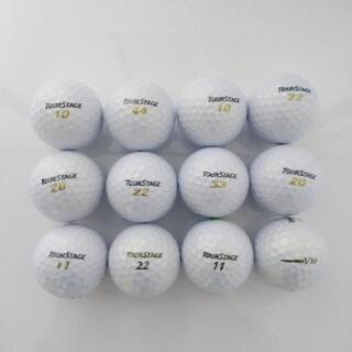 ゴルフ ②ロストボール12個(傷み少ない)