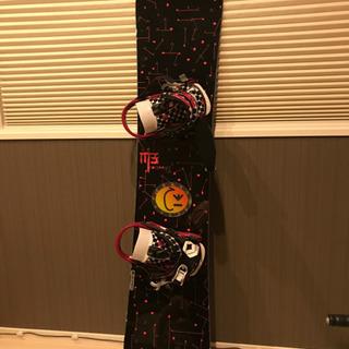 スノーボード 板 ビンディング付き