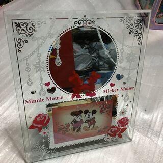 ディズニー ミッキーマウス ミニーマウス 第一生命 非売品 鏡 ...