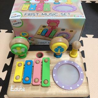 Edute エデュテ 音楽 楽器 木製 おもちゃ