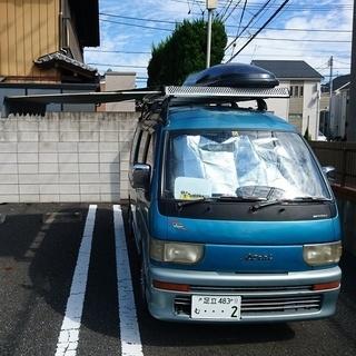 軽キャンピングカー  軽キャン  車中泊  アトレーワゴン