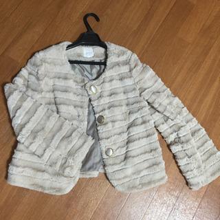 モコモコのコート