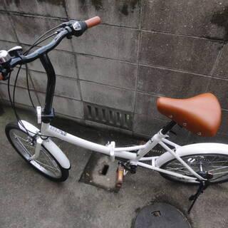 6段変速付 折りたたみ自転車 未使用品