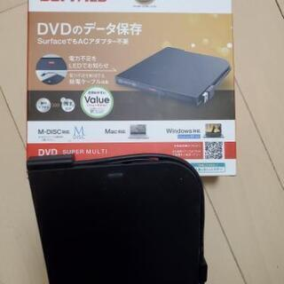 BUFFALO DVDドライブ