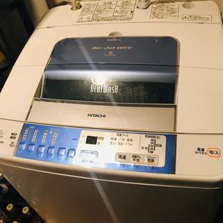 HITACH 全自動洗濯機 BEAT WASH 7kg