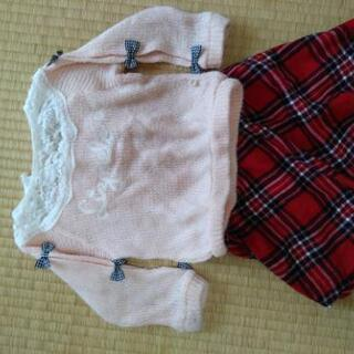 【秋冬】女の子サイズ100