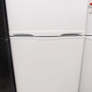 アイリスオーヤマ ノンフロン冷凍冷蔵庫 AF-118-W …