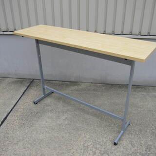 未使用品 カウンターテーブル 木目 高さ1000mm