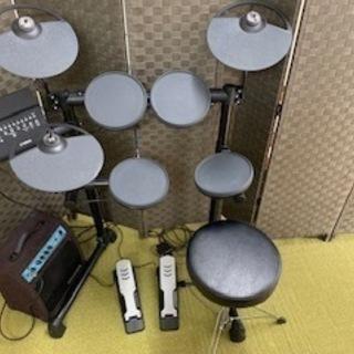 電子ドラム YAMAHA DTX400K プラスおまけアンプ 値...