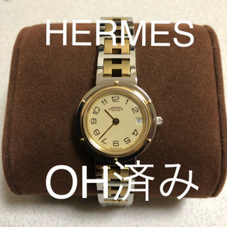 (美品)HERMES クリッパー OH済み ポリッシュ済みレディ...