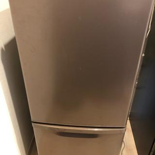 Panasonic ブラウン冷蔵庫 138リットル