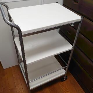 値下げ【10月限定】IKEA キッチンワゴン