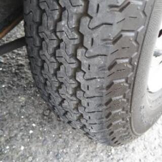 軽トラック用タイヤ、鉄ホイールセット