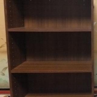 カラーボックス 3段 木製