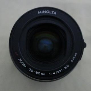 中古 ミノルタ MINOLTA AF ZOOM 35-80mm ...