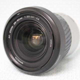 MINOLTA デジタル一眼カメラAF28-80mm F/3.5...