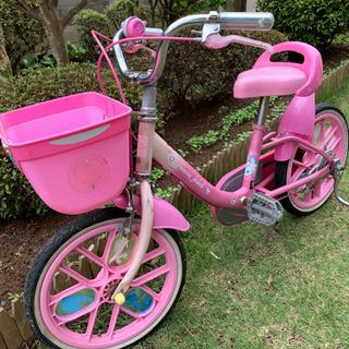 女の子用の自転車です。16インチ