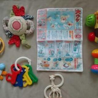 乳児 プーさん キリンのソフィー  おもちゃ 8点セット