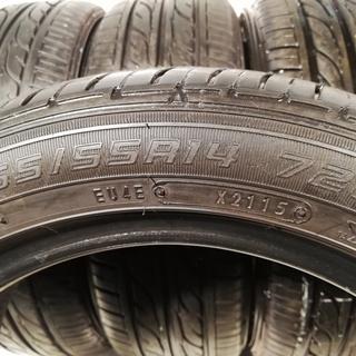 165/55R14 ノーマルタイヤ 16000円のみ 商品代金+...