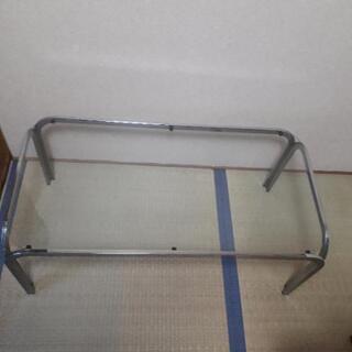 【決まりました】ガラスローテーブル