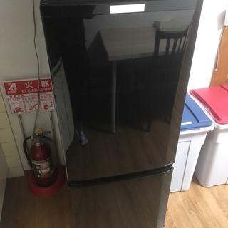 2017年製 三菱 ノンフロン冷凍冷蔵庫 MR-P15A-B