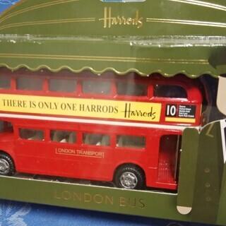 英ハロッズ ロンドン2階建バス ダブルデッカー