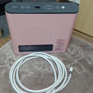 綺麗なピンクです ノーリツ ガスファンヒーター 都市ガス12A 13A