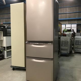 2015年製 三菱 ノンフロン冷凍冷蔵庫 MR-C37Y-P 370L