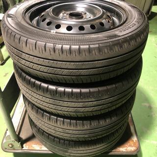タイヤ 155/65R15 ホイールセット 4本