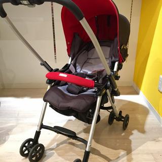 ■店頭引取限定■Combi 新生児対応ベビーカー ウェルフラットワイド