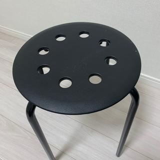 IKEA 黒椅子 ⚠️取りに来れる人のみ