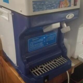 かき氷機械、全自動