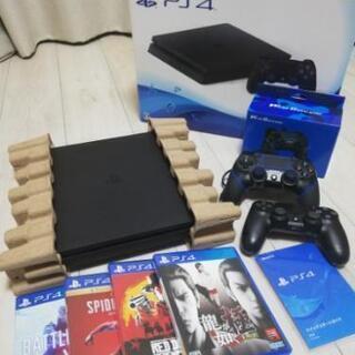 プレステ4 PS4 500GB 美品セット