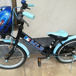 18インチ自転車 ヘルメットもおまけ