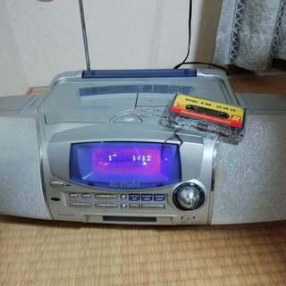 SHARP シャープ CD/MDラジカセ MD-F150 MD不...