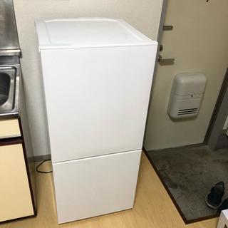美品  ツインバード 使用期間1ヶ月 ◆2019年製冷蔵庫◆HR...