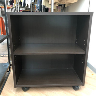 ローラー付き収納棚 収納ボックス カラーボックス