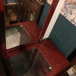 コンパクト x ロング 鏡台 ドレッサー
