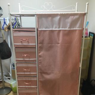 衣類収納クローゼット(移動式)