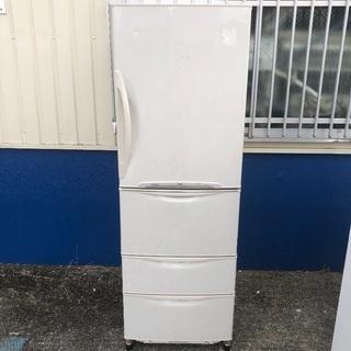 【配送無料】日立 380L 4ドア冷蔵庫 R-S381PAM