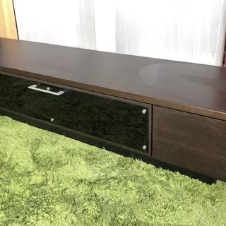 テレビボード 大型テレビも乗せれます! ダークブラウン