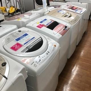 大型洗濯機揃えました!7キロタイプ以上で20台以上揃っています!