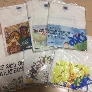 青梅マラソン記念Tシャツ6枚