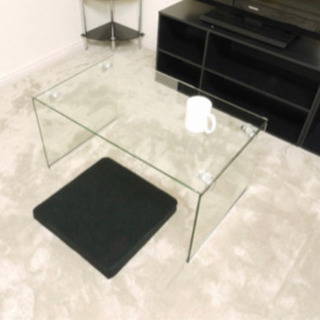 ガラス おしゃれテーブル
