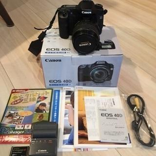 Canon 一眼レフカメラ EOS40D