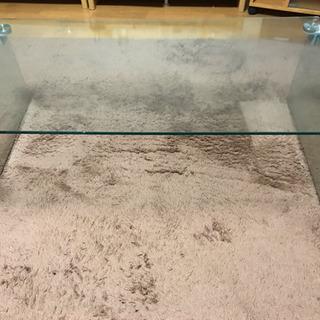 Francfranc ガラステーブル