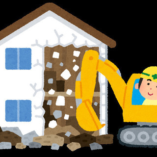 初めての方でも、まずは簡単な作業から、解体工事 建設現場での作業...