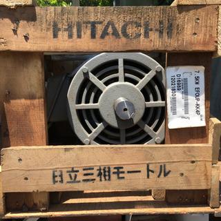 未使用  日立モートルかご型三相 EFOUP-KK4P 7.5KW